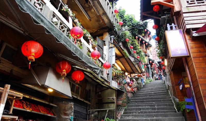 台湾九份老街景点图片