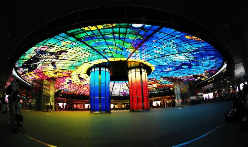 台湾高雄捷运美丽岛站景点图片