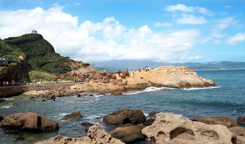 台湾野柳地质公园景点图片