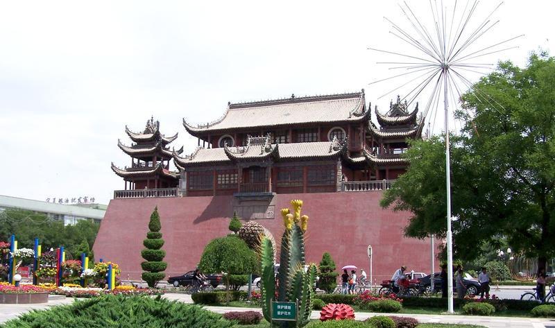 银川玉皇阁旅游风景图片