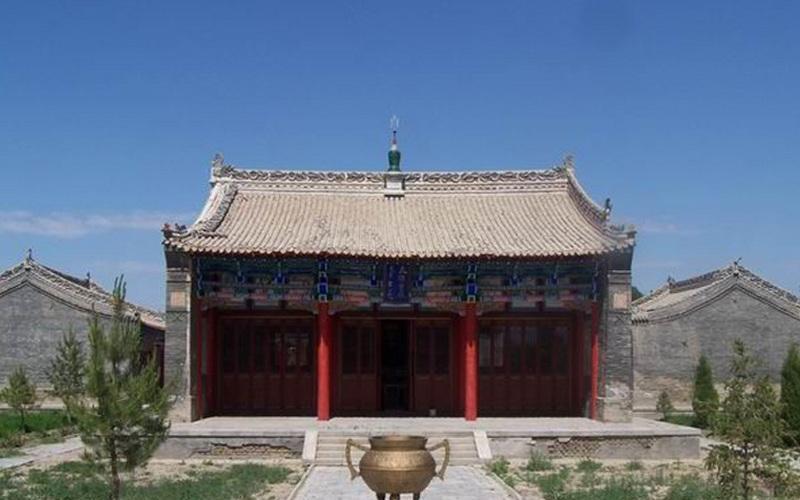 伊犁靖远寺 之 大雄宝殿风景图片