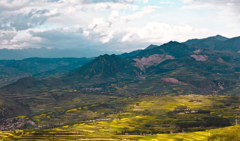 青海老爷山-宝库峡-鹞子沟风旅游风景图片