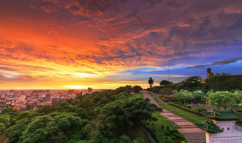 台湾彰化八卦山风景点图片