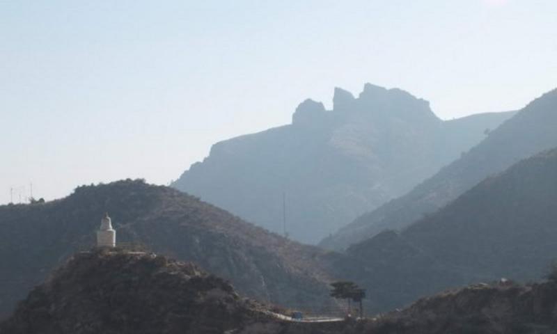 银川贺兰山滚钟口旅游风景图片