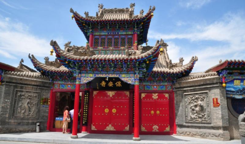 宁夏中卫高庙保安寺景点图片