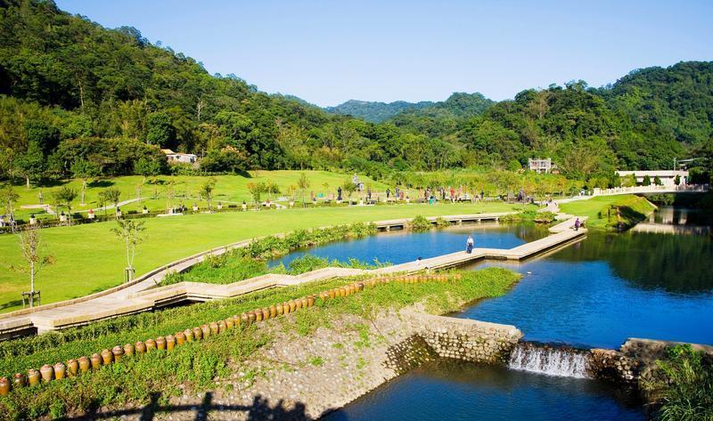 桃园慈湖陵寝旅游风景图片