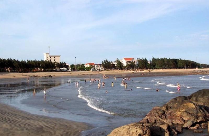 澳门黑沙海滩旅游风景图片
