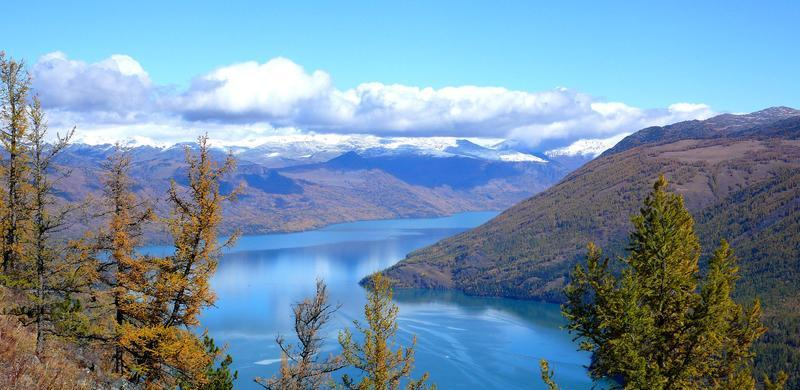 新疆天山天池景点图片