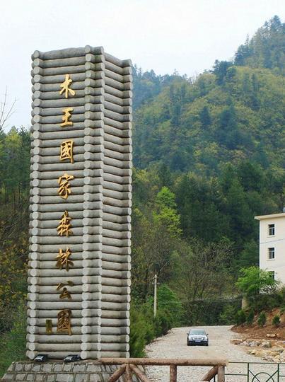陕西木王国家森林公园景点图片