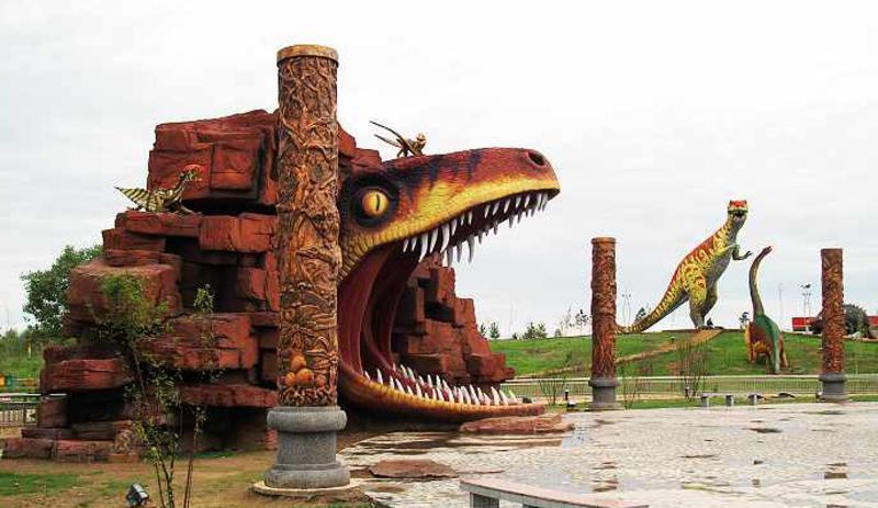 克拉玛依恐龙文化苑景点图片