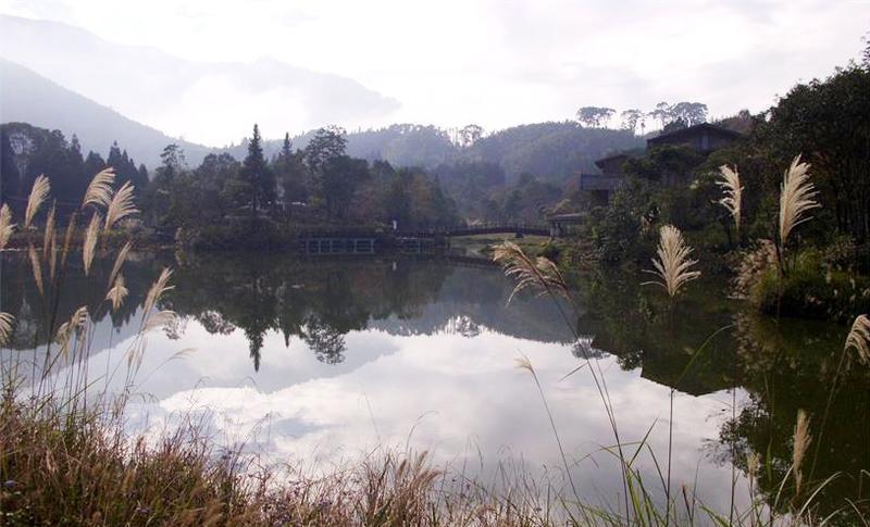 南庄向天湖景点图片