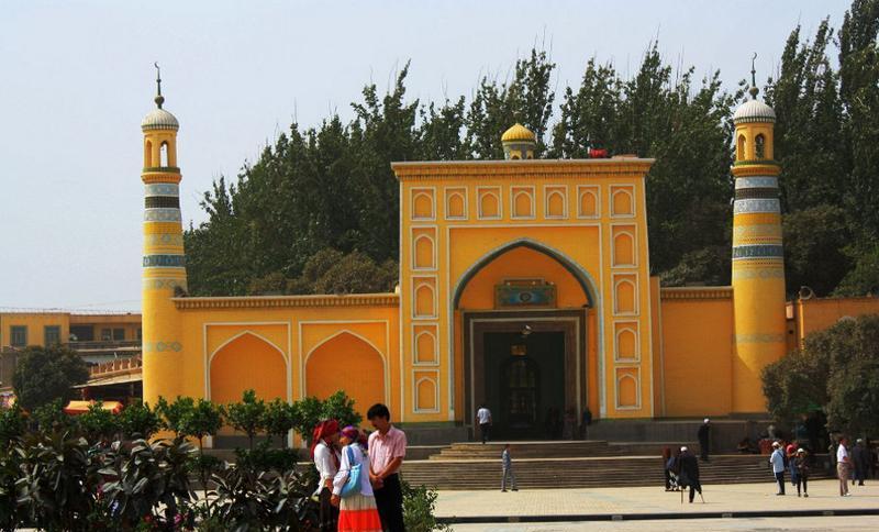 新疆艾提尕尔清真寺景点图片