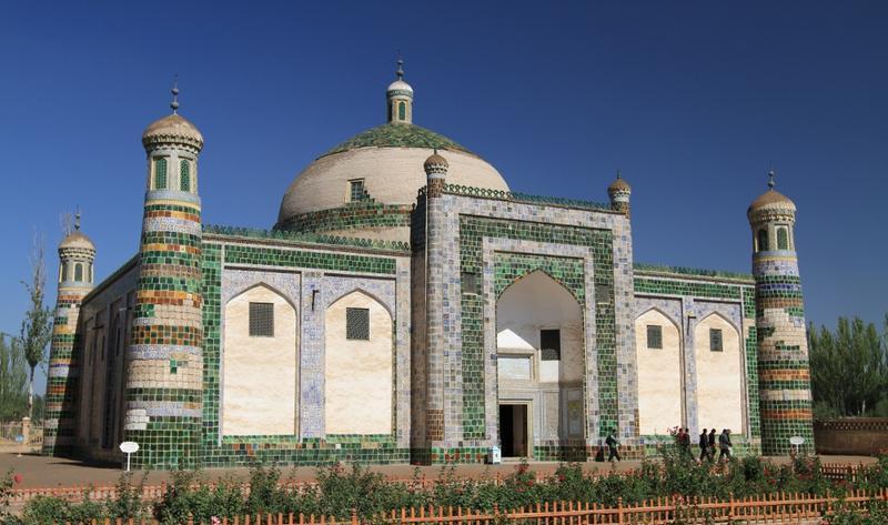 阿巴克霍加麻扎香妃墓旅游风景图片