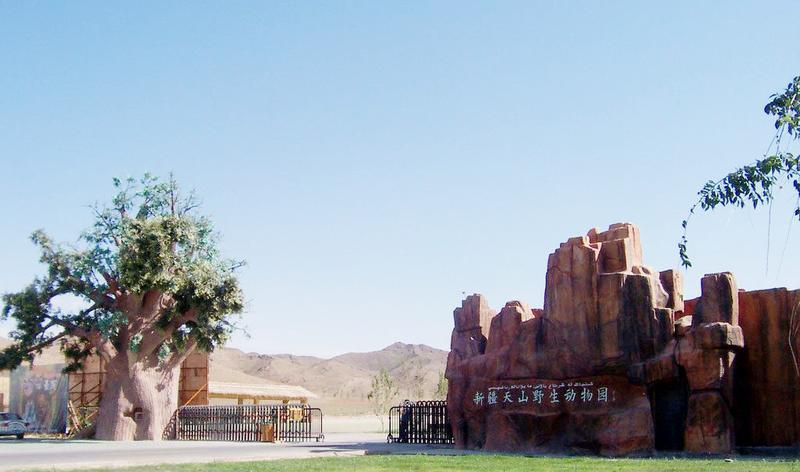 新疆天山野生动物园景点图片