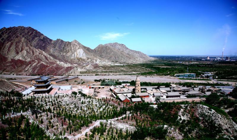 宁夏大武口北武当生态旅游区景点图片