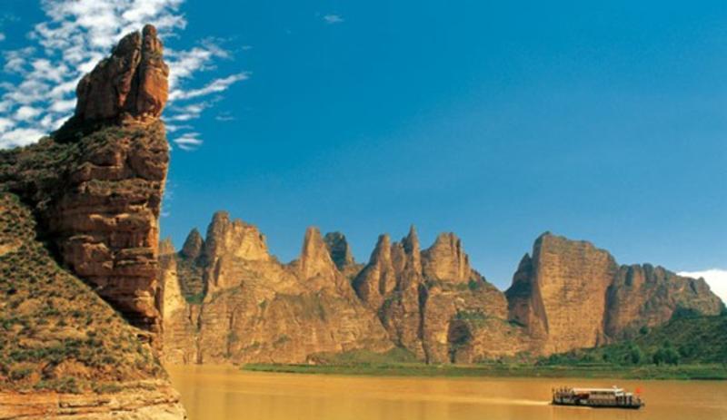 黄河三峡旅游风景图片