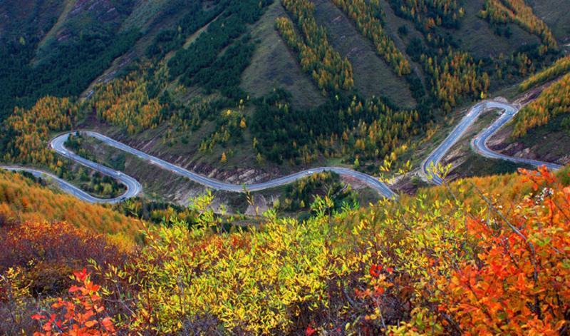 宁夏六盘山旅游区景点图片