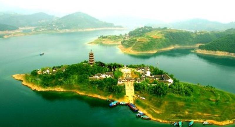 安康市香溪洞风景点图片