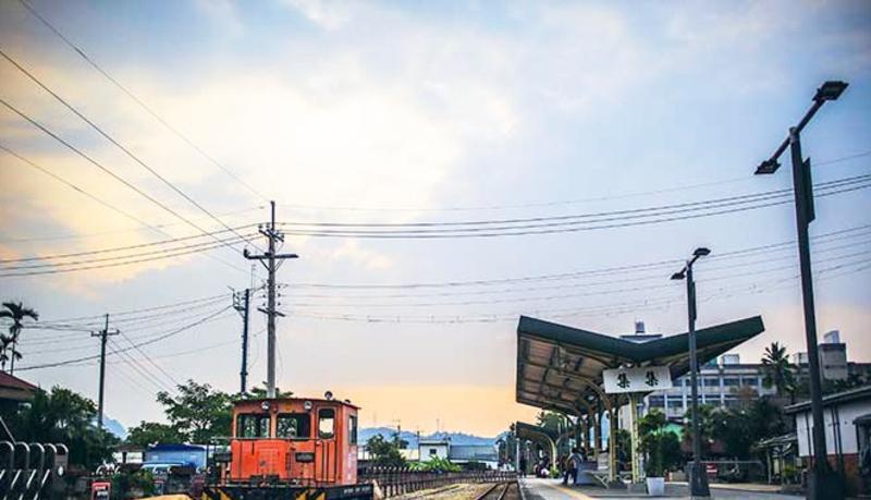 南投集集小镇景点图片