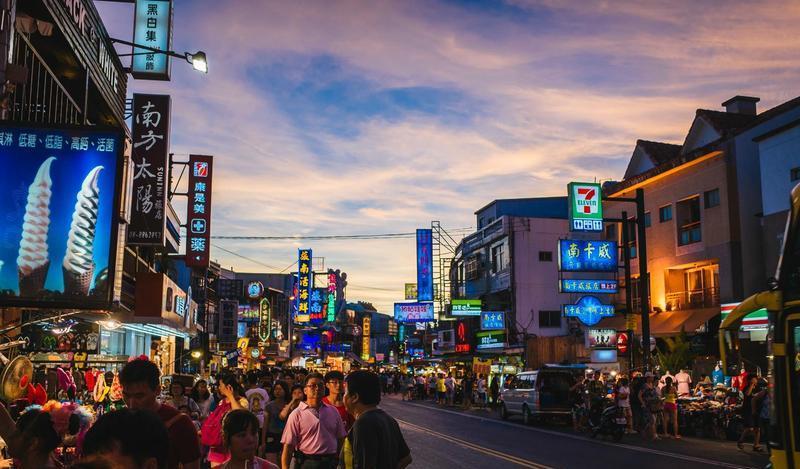 台湾垦丁大街景点图片
