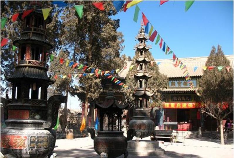 武威海藏寺 之 大雄宝殿风景图片