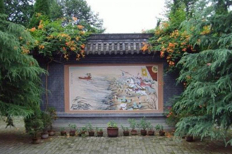 汉中马超墓祠 之 照壁风景图片
