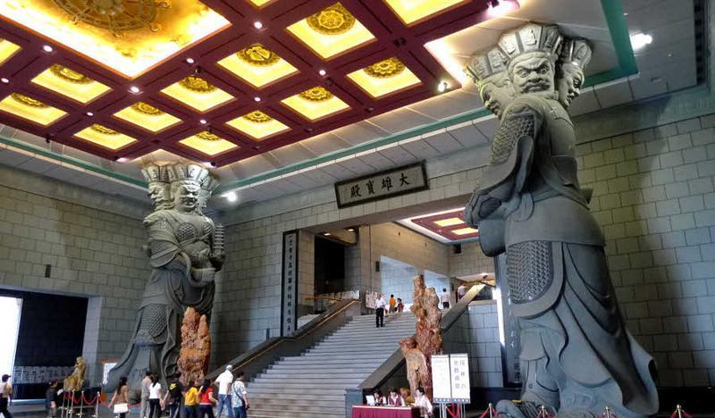 台湾中台禅寺 之 大雄宝殿风景图片
