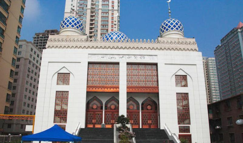 兰州西津东路清真大寺景点图片