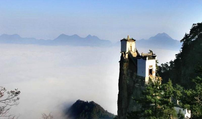 陕西塔云山景点图片