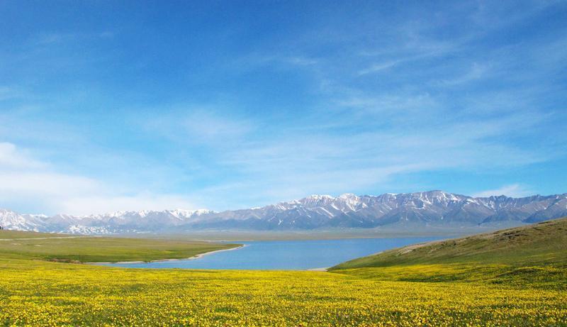 新疆赛里木湖景点图片