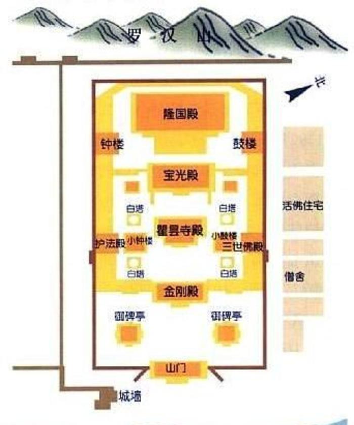 乐都瞿昙寺 之 建筑风景图片