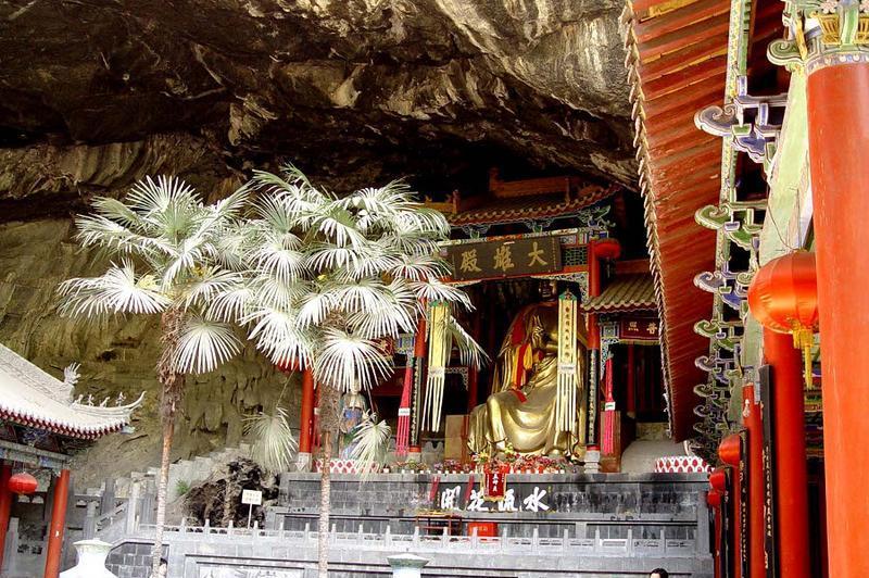 汉中灵岩寺博物馆 之 大雄宝殿风景图片