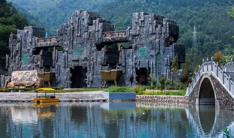 陕西延安黄陵国家森林公园