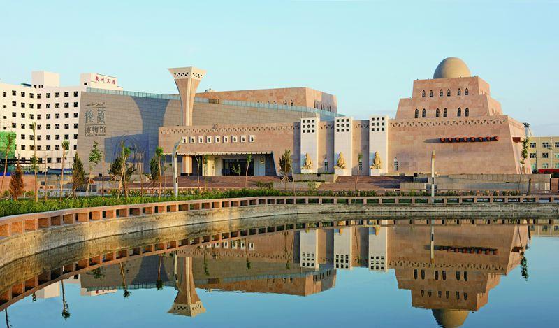 新疆若羌楼兰博物馆景点图片