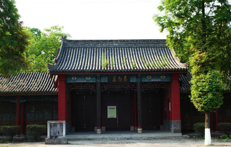 汉中马超墓祠景点图片