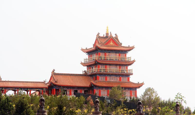 青铜峡中华黄河楼 之 建筑风景图片