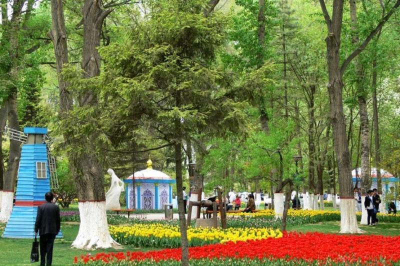 西宁人民公园景点图片