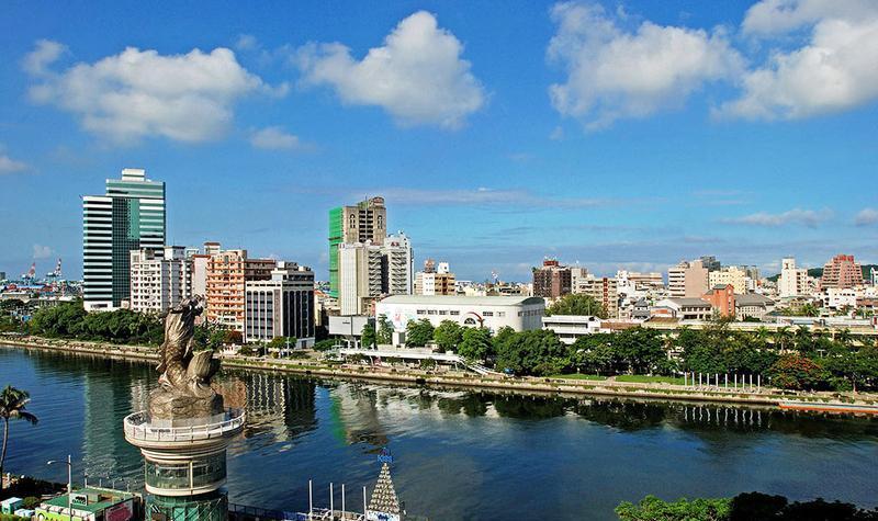 中国台湾高雄爱河景点图片