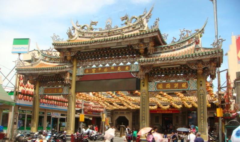 台湾鹿港天后宫景点图片