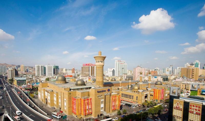 新疆国际大巴扎景点图片