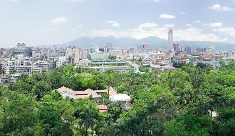 台北植物园景点图片