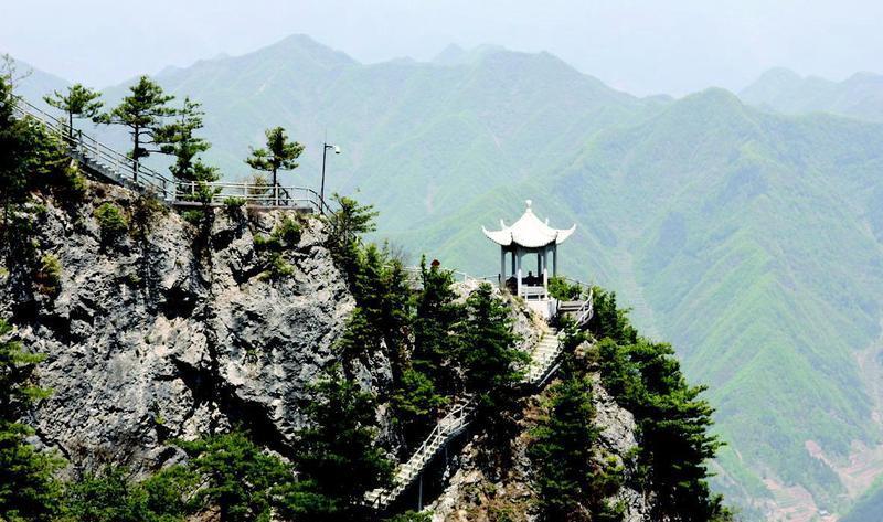 陕西商洛天竺山国家森林公园景点图片