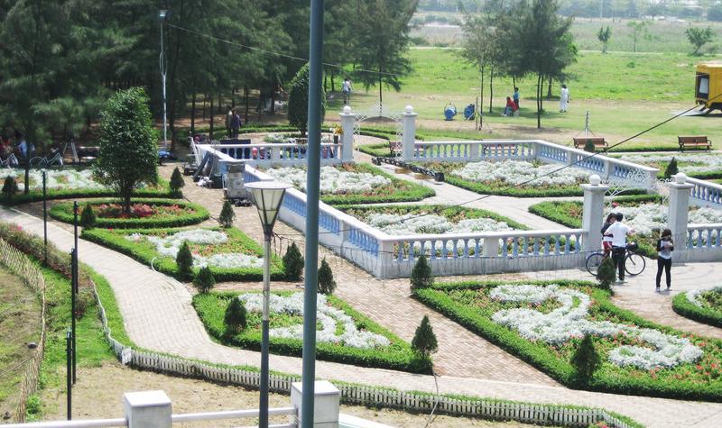 龙环葡韵博物馆 之 花园风景图片