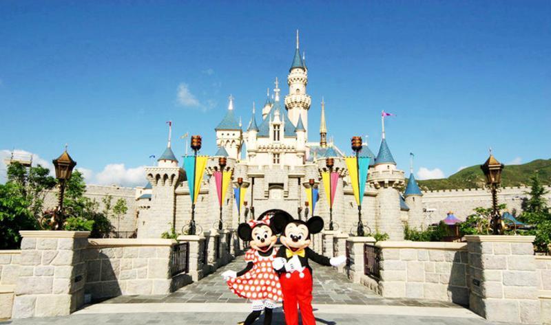 香港迪士尼乐园旅游风景图片