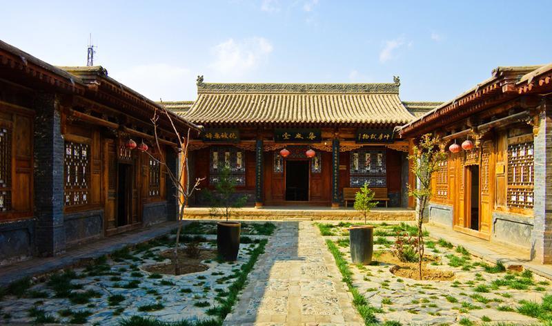 兰州青城古镇景点图片