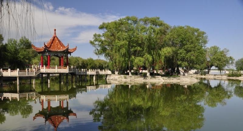 石河子北湖旅游区
