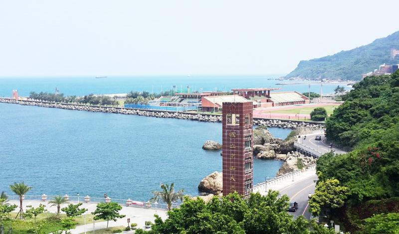 台湾高雄国立中山大学校园风光景点图片