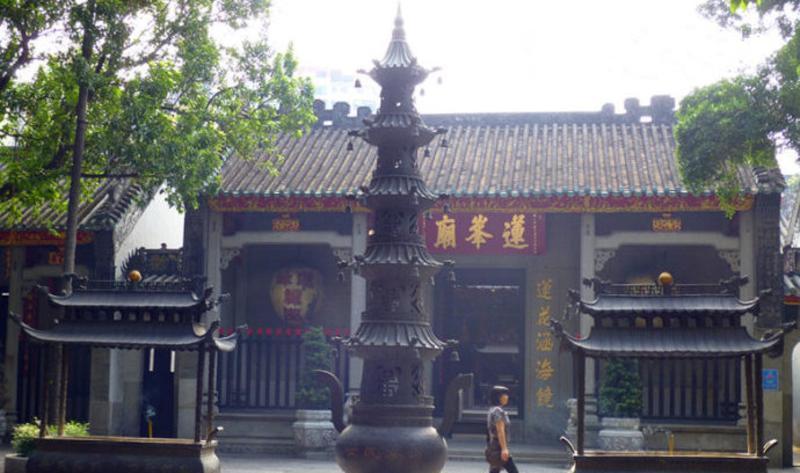 澳门莲峰庙景点图片