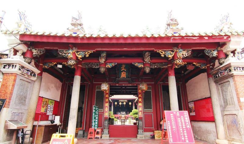 台南祀典武庙景点图片