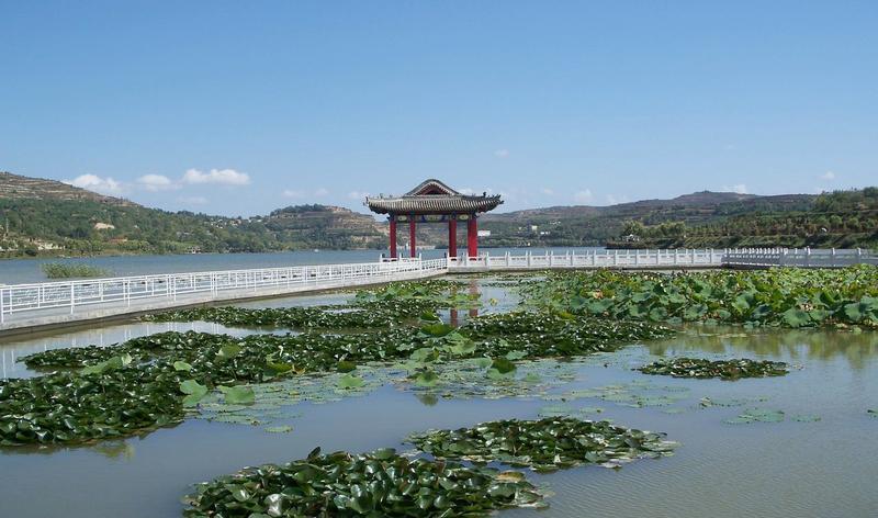 陇南西和晚霞湖